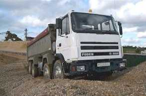 C & G Quarried Products Tipper