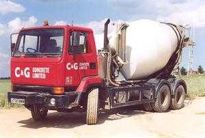 C & G Readymixed Concrete Mixer